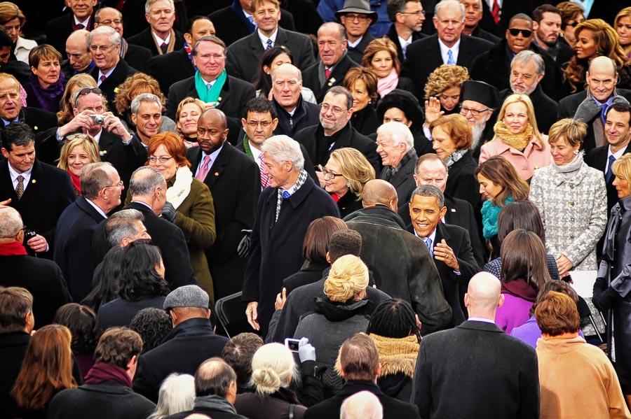 tweede inauguration bill clinton